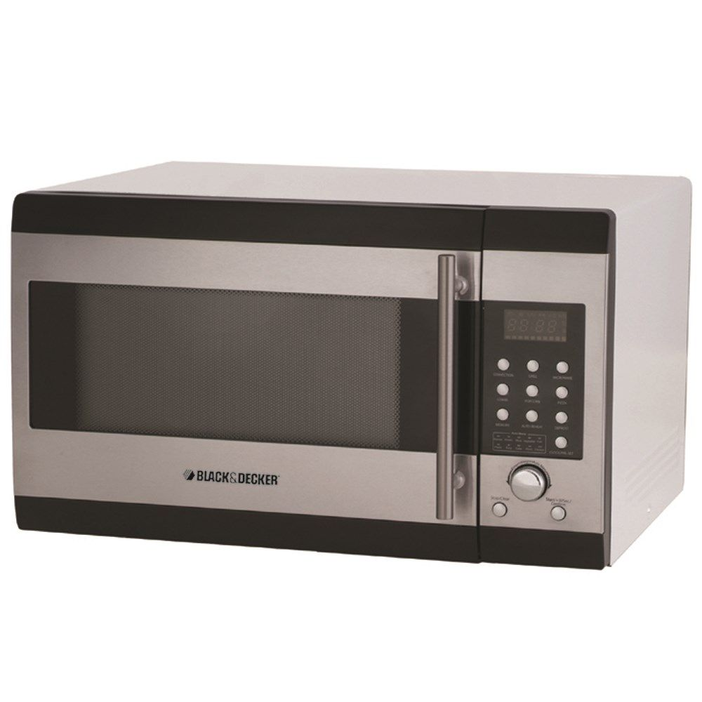 Black Decker Microwave Oven With