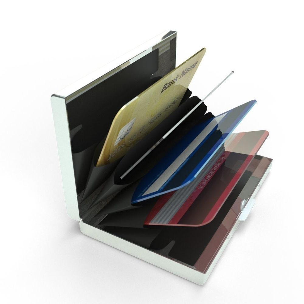 Travel Wallet Latest Stainless Steel Rfid Blocking