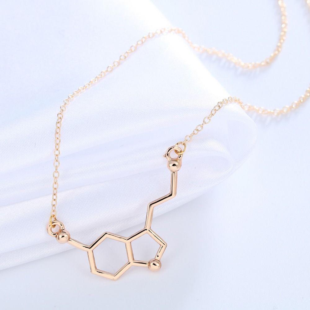 Infinity Molecule Chemistry Necklace Infinity shape necklace