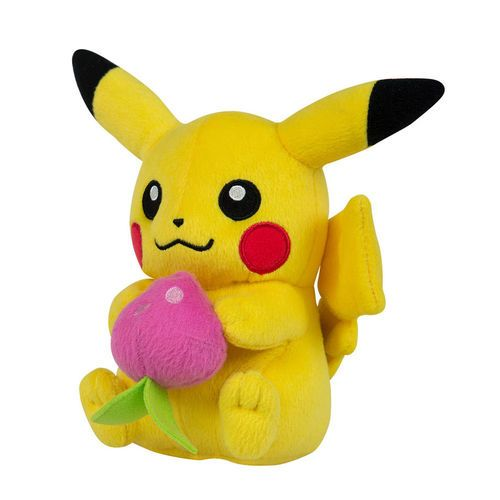 Easter pokemon pikachu easter gift for kids pokemon plush decorative plush of pikachu easter ver from the anime and video game series pokemon decorative plush that is 20 cm tall by tomy negle Image collections