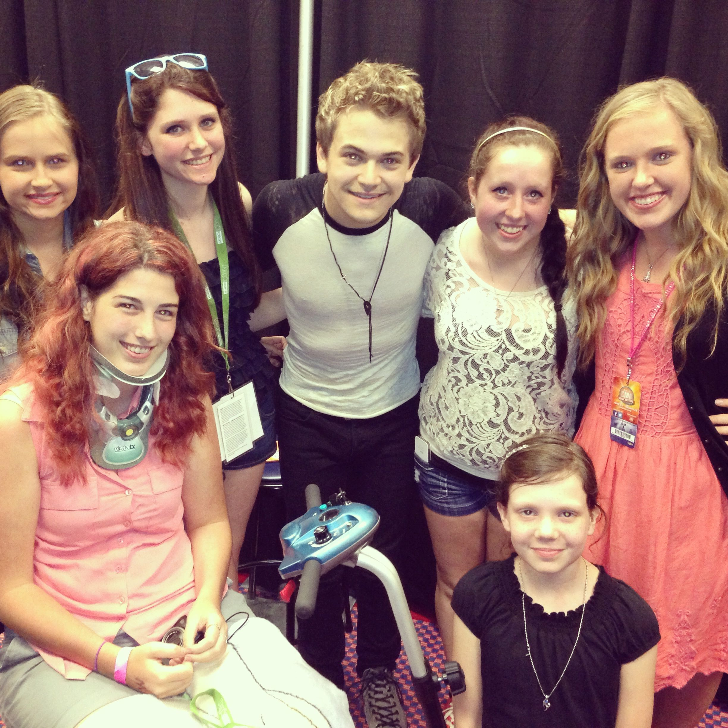 Congrats to the hunter hayes meet and greet winners cmafest cma congrats to the hunter hayes meet and greet winners cmafest kristyandbryce Images