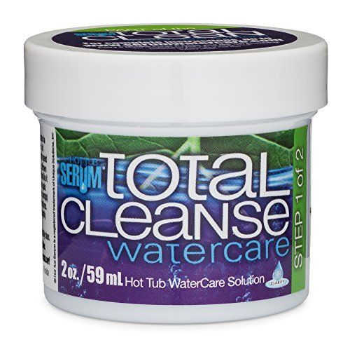 Jetted Hot Tub and Spa Cleaner: Total Cleanse Serum Clarifier for ...