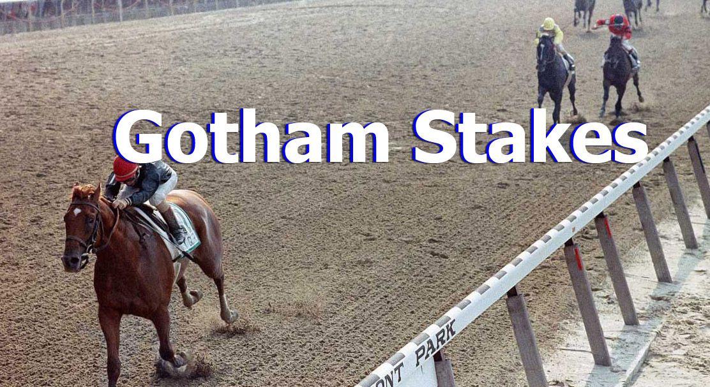 Expert horse racing tip sheet Saturday Gotham Stakes Picks