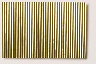 Micro Corrugated Brass Sheet Stamped Through Fine Purchase Online Corrugated Sheets Corrugated Brass