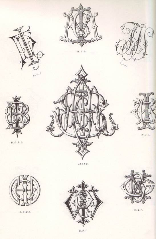 Lettering, Calligraphy, Typography: 2,100 Victorian Monograms by Karl Klimsch (1994, Paperback)