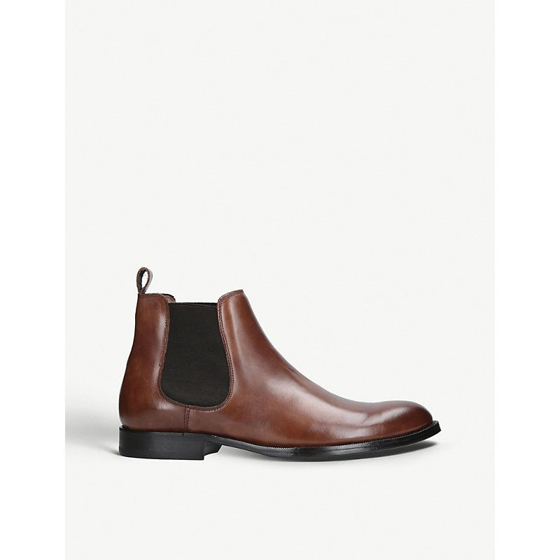 Herren Schuhe kurt geiger london Chelsea Stiefel aus Leder