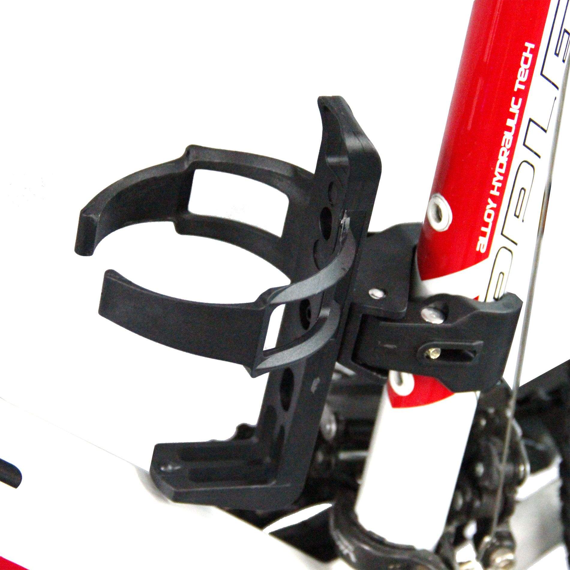 Carbon Fiber Bike Glass Water Bottle Holder Cages Black Red Colors Functional