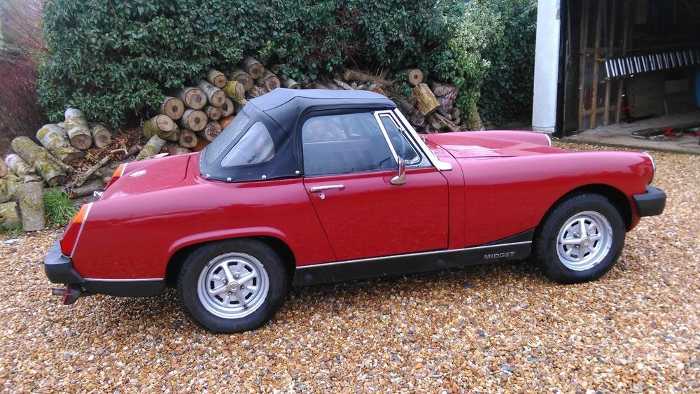 Mg midget mileage