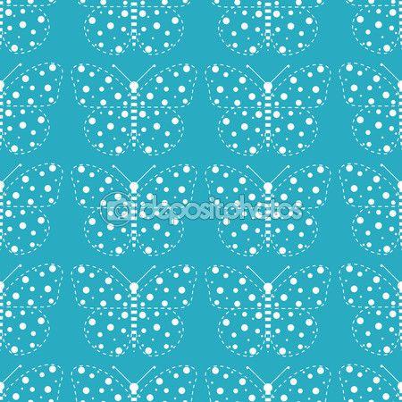 Bright pattern of butterflies — Vector de stock #97572160