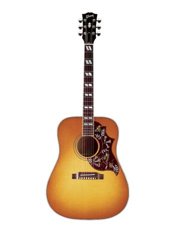 Founded more than 110 years ago by shoe clerk Orville Gibson and headquartered in Nashville, Gibson guitars have struck just the right chord with rock, folk, and blues stars such as B. B. King, Bob Dylan, Johnny Cash, and Elvis.   - CountryLiving.com
