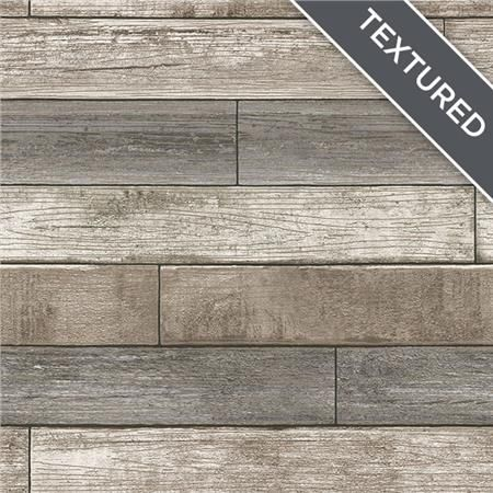 Nu1690 Reclaimed Wood Plank Natural Peel And Stick Wallpaper By Nuwallpaper Wood Plank Wallpaper Stick On Wood Wall Reclaimed Wood Wallpaper