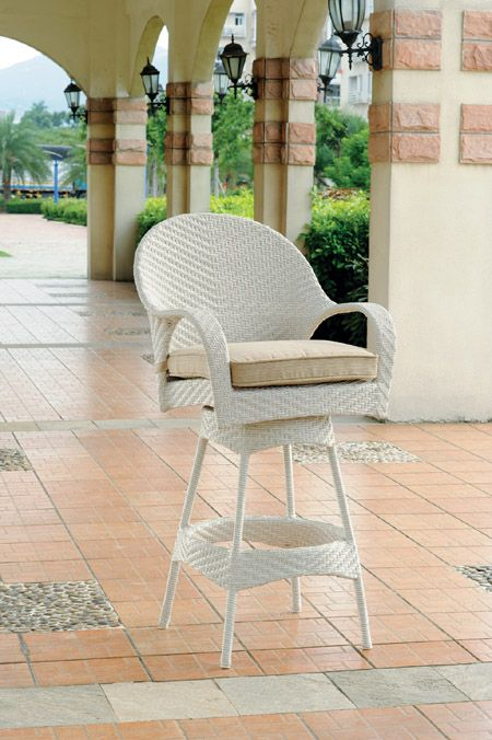 78309 Bahia Patio Swivel Bar And Counter Stools By South