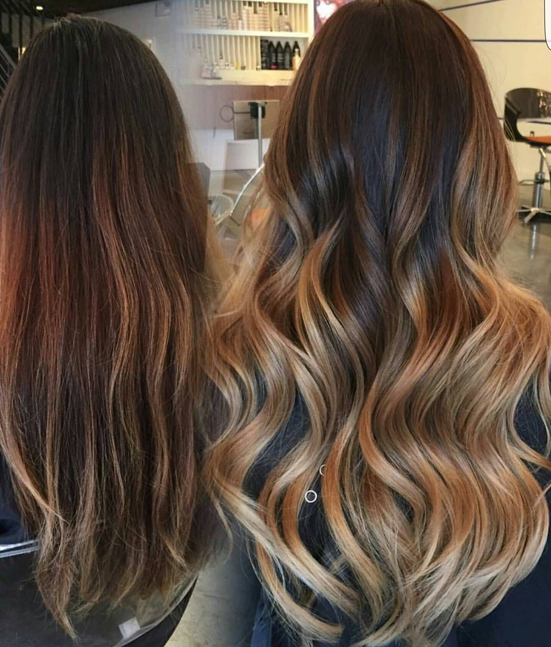 Caramel Butterscotch Balayage Transformationtuesday By
