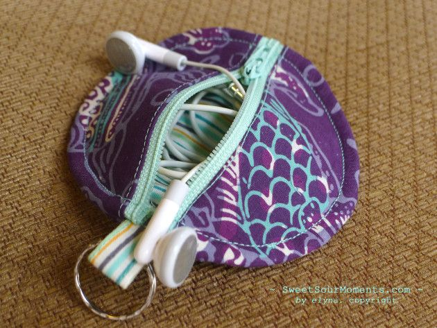 awesome tutorial for cute headphones case | Sew Cool | Diy ...