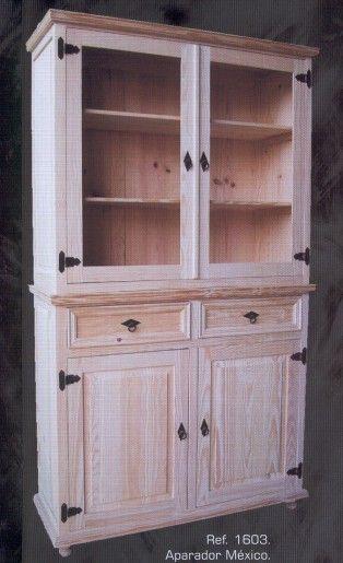 Aparadores - Muebles de pino macizo - Muebles - 1162 Aparador de 3 ...