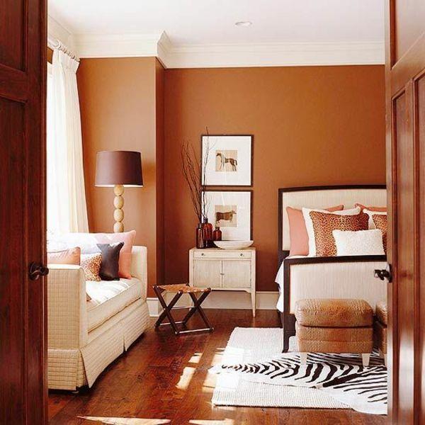 awesome Wandfarben fürs Wohnzimmer – 100 trendy Wohnideen für Ihre ...