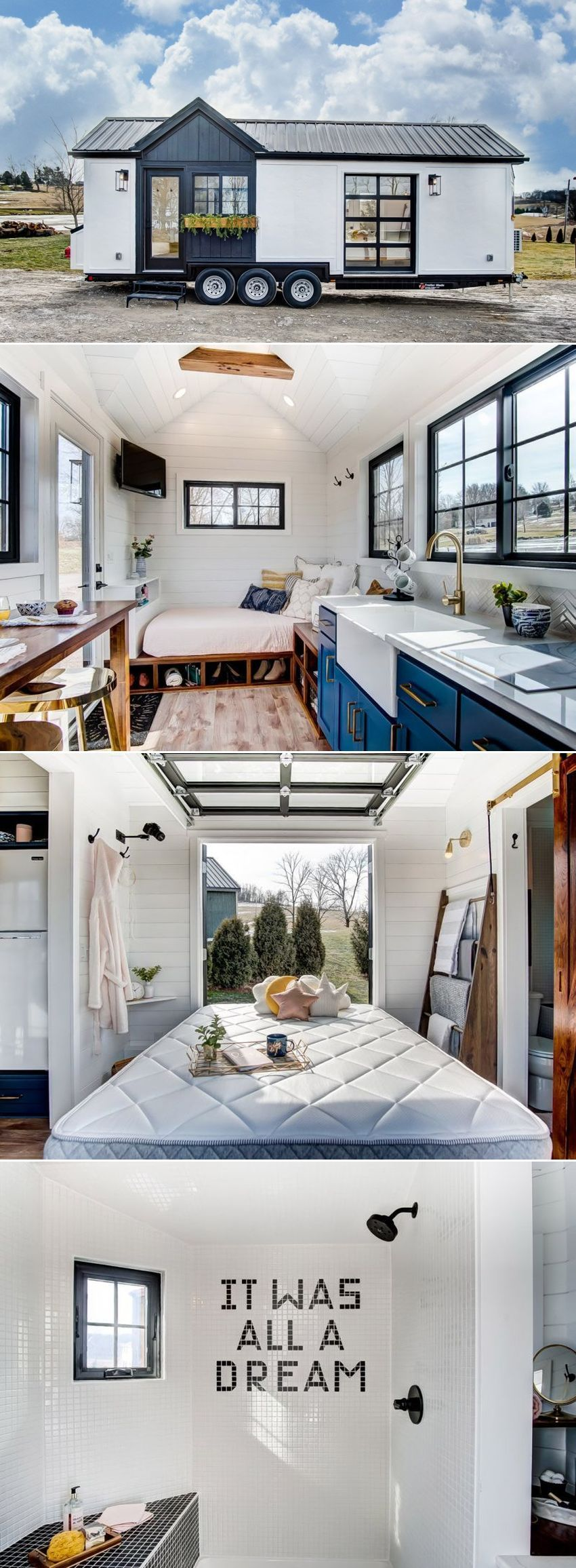 Allswell Hires Modern Tiny Living to Build This 100K Tiny House on Wheels