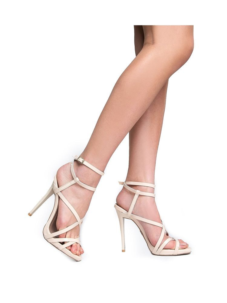 cf47b0210900 ZooShoo Womens Ankle Strap High Heel Sandals - Dress Wedding Party Heeled  S...  fashion  clothing  shoes  accessories  womensshoes  sandals (ebay  link)