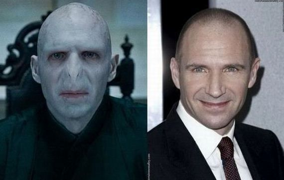 Voldemort before and after makeup | Voldemort actor, Voldemort, Actors
