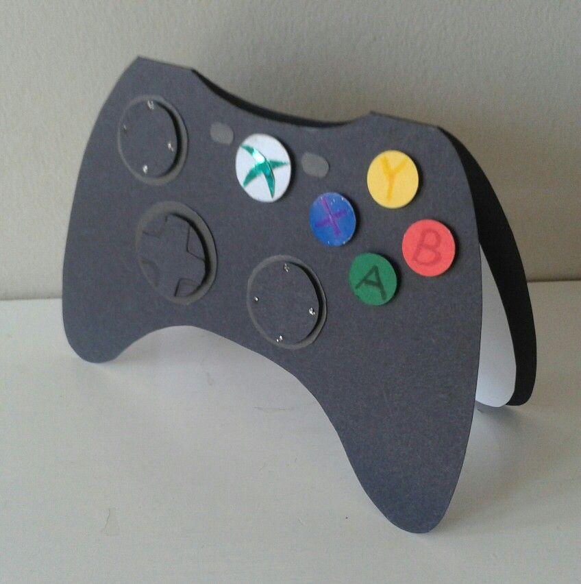Novelty Xbox Controller Birthday Card