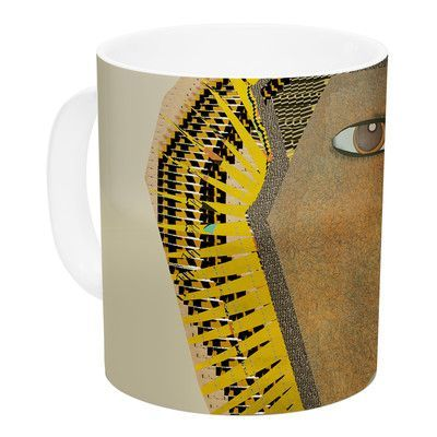 KESS InHouse Lion by Bri Buckley 11 oz. Ceramic Coffee Mug