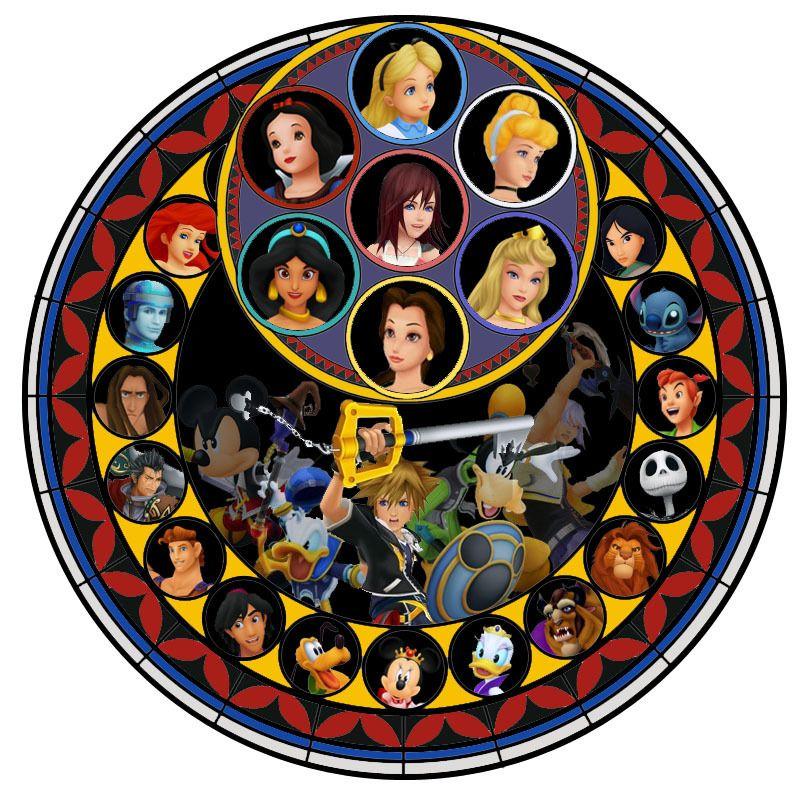 Kh The Final Stained Glass Kingdom Hearts Kingdom