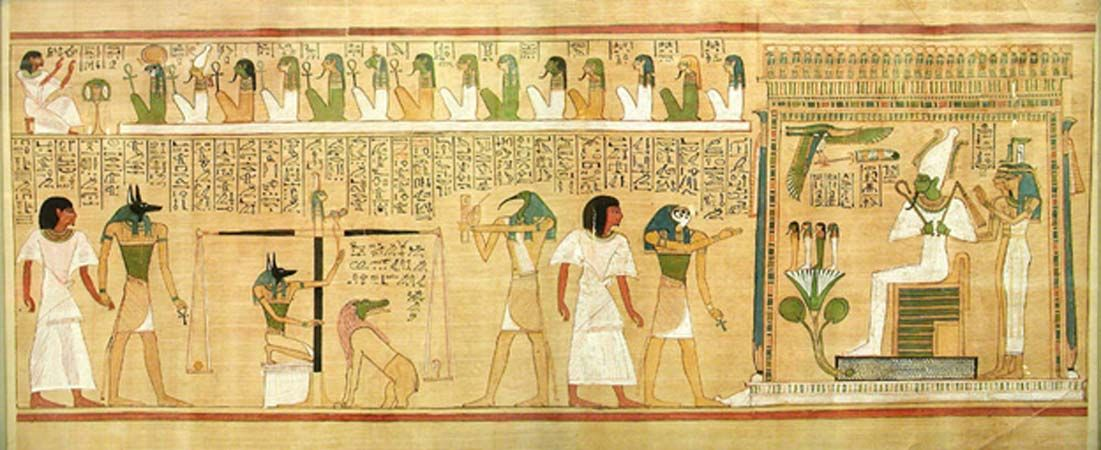 Judgment In The Hall Of Truth And Preparations For The Afterlife
