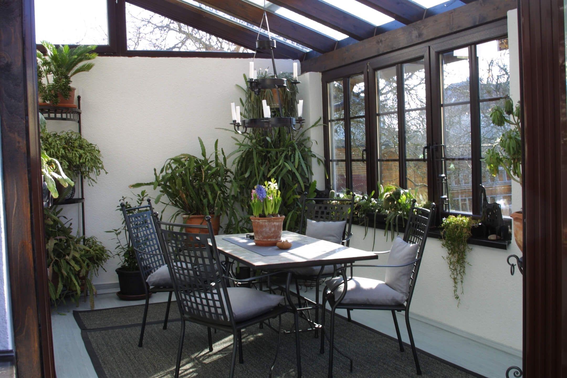 Terrassenuberdachung Aus Glas Und Holz Mit Bildern Terrassenuberdachung
