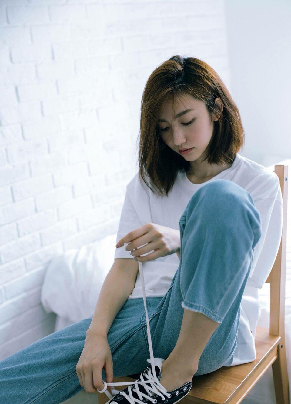 short asian style