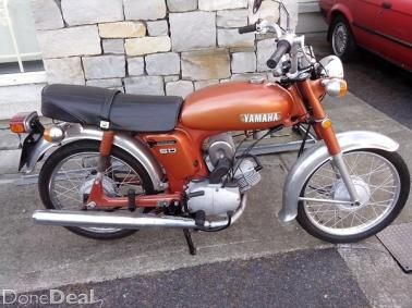 1976 Yamaha Yb50 50cc Motorcycle For Sale In Wicklow On Donedeal 50cc Vintage Bikes Motorcycle