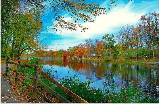 Picture by Lanis Rossi Haddon Lake in Audubon, NJ Audubon NJ