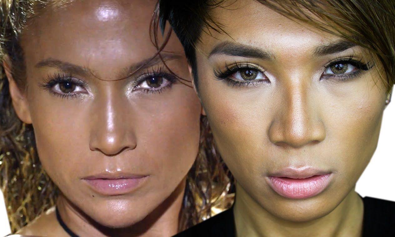 Jennifer Lopez Booty ft. Iggy Azalea Music Video Makeup Tutorial   ThePr...