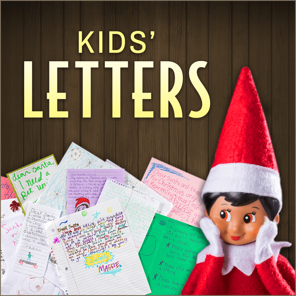 10 Cutest Things in Kids' Letters to Santa Letters for