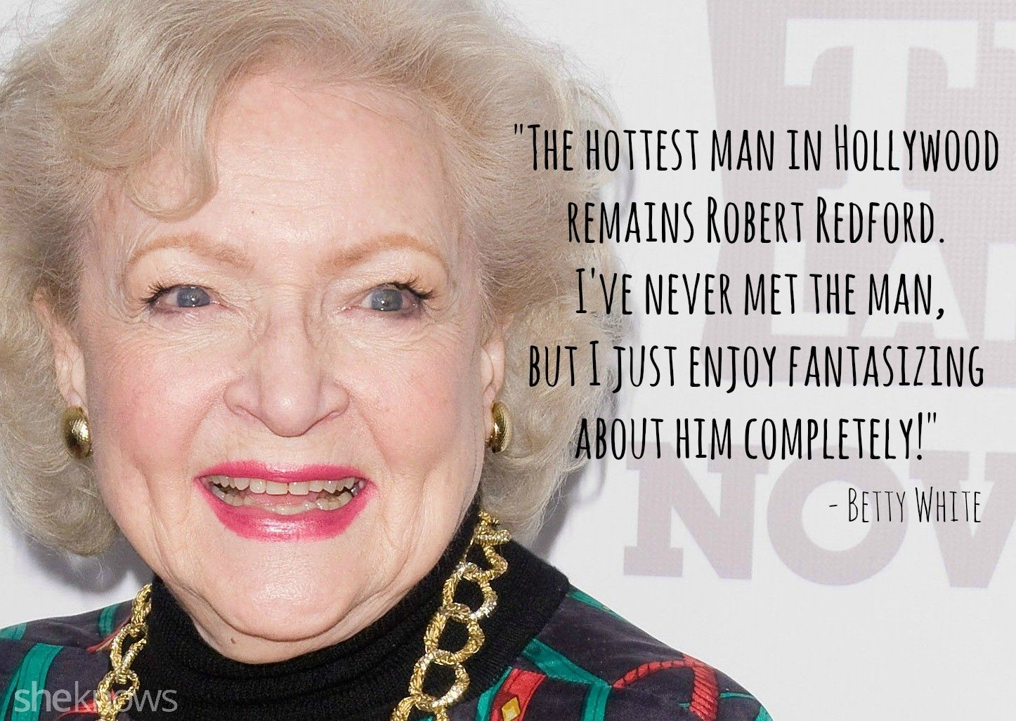 Betty white on senior sex