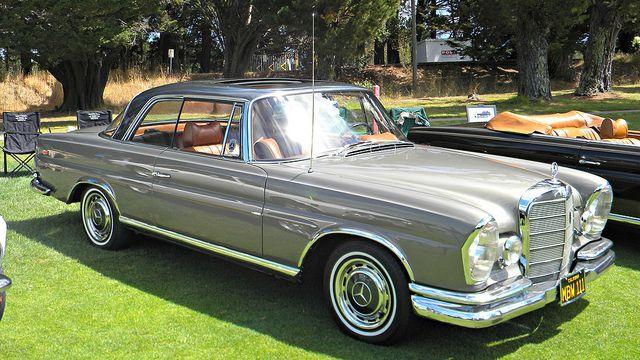 1968 mercedes benz 280 se coupe 39 mbw 111 39 2 autobahn. Black Bedroom Furniture Sets. Home Design Ideas