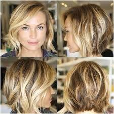 Coupe de cheveux degrade cheveux fins