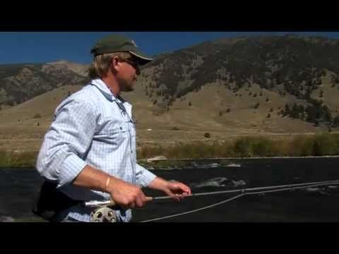 High Sticking Trout On The Madison River With Kelly