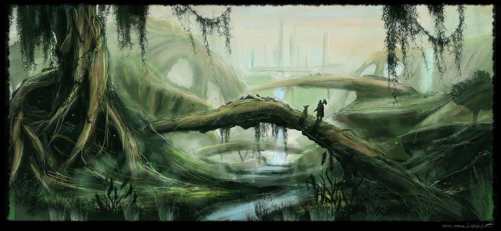 Fantasy Landscape by MAKS-23.deviantart.com on @deviantART ...