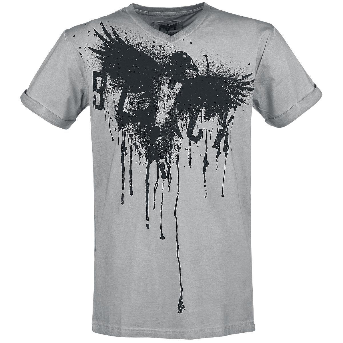 "Black Premium by EMP Camiseta ""Splattered Eagle"" Gris • Amplia selección • EMP"