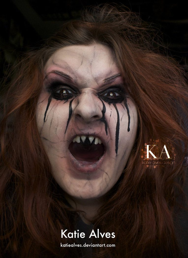 Evil Witch - Halloween Makeup with Tutorial by KatieAlves on ...