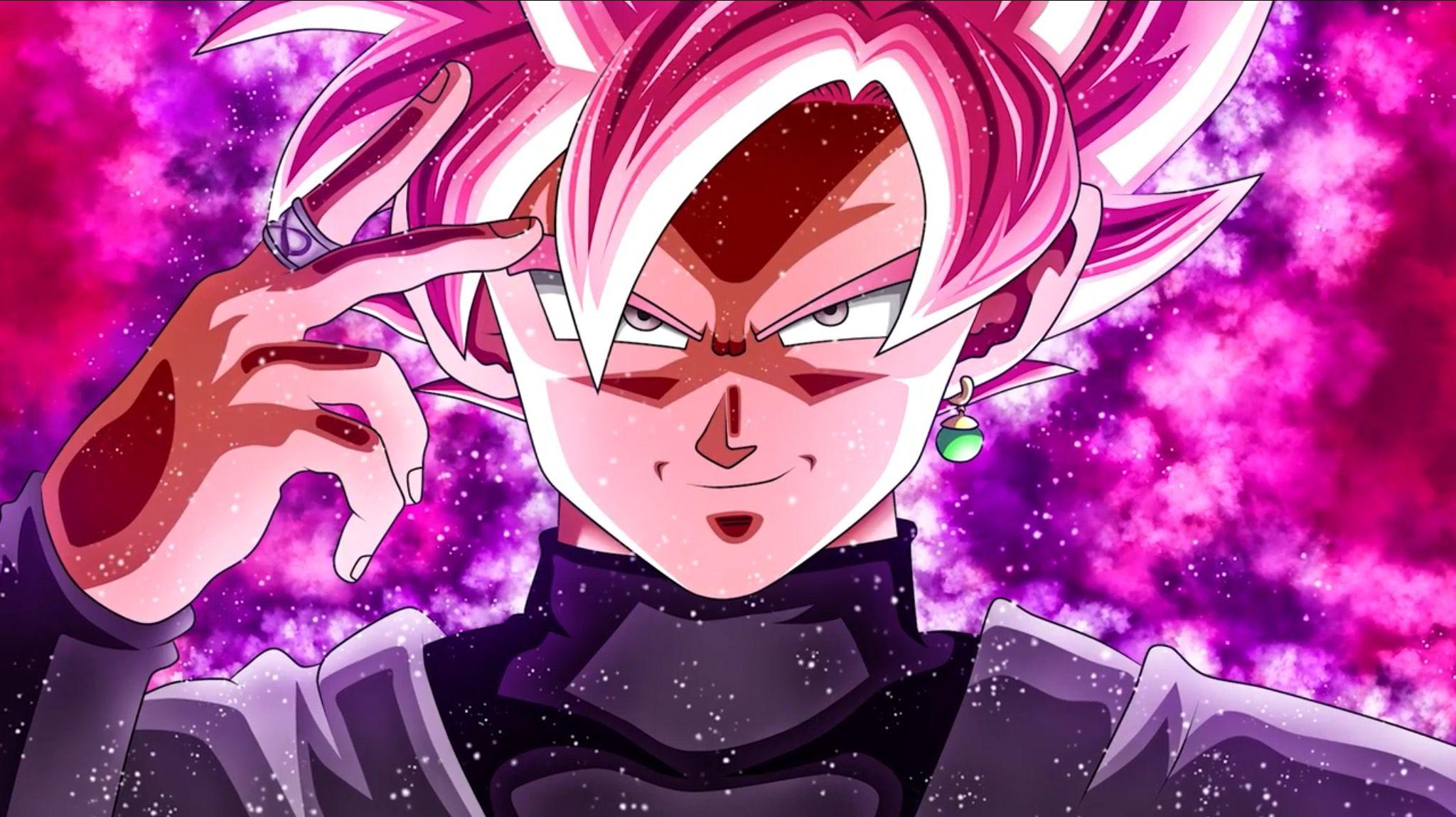 Super Saiyan Rośe Goku Black Goku Wallpaper Dragon Ball