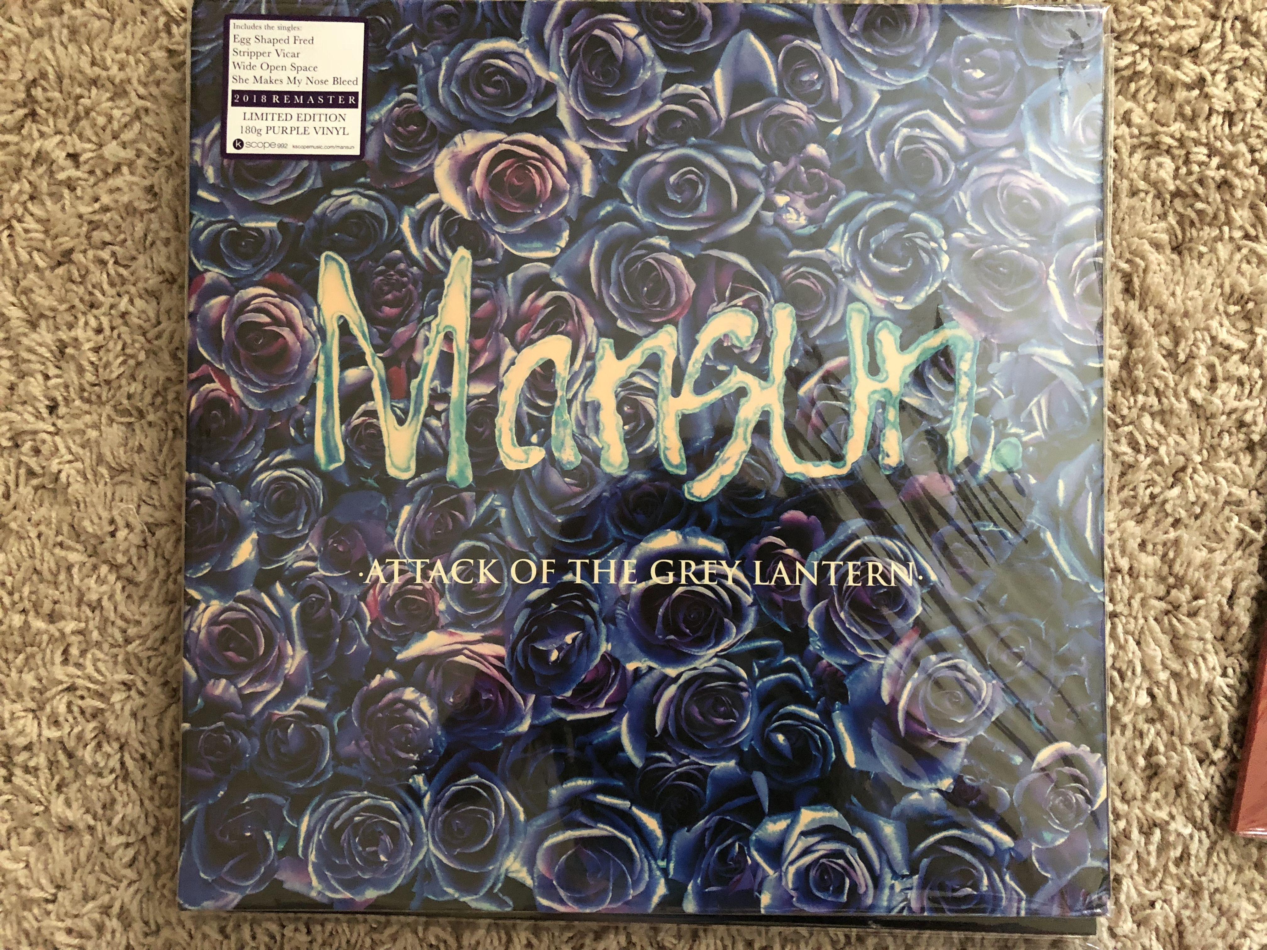 Mansun - Attack Of The Grey Lantern (1997, Card Sleeve, CD