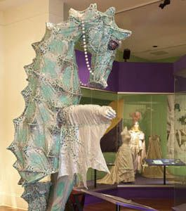 The Presbytere Louisiana State Museum - best exhibits are the Mardi Gras exhibit and Living with Hurricanes
