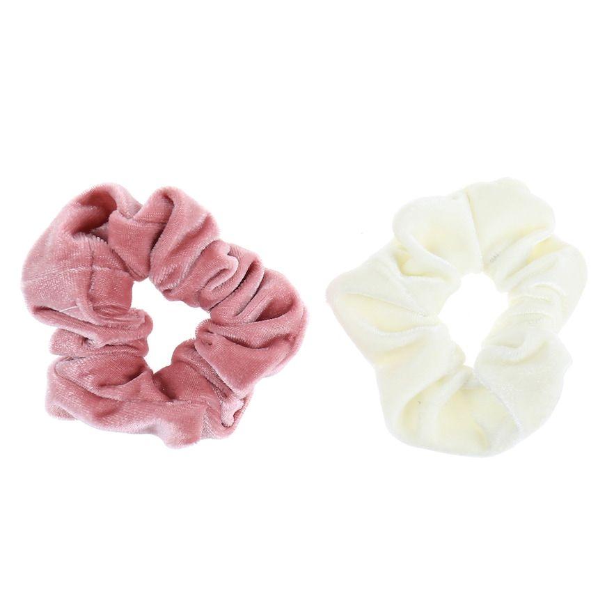 LC Lauren Conrad 2-pc. Velvet Hair Tie Set #laurenconradhair