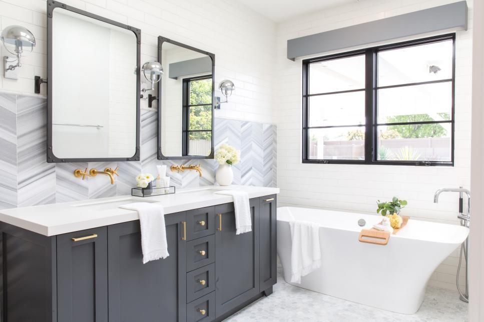 Modern Bathroom Design Ideas Pictures Tips From Hgtv Bathroom Ideas Designs Hgtv Stylish Bathroom Bathroom Design Trends Modern Bathroom