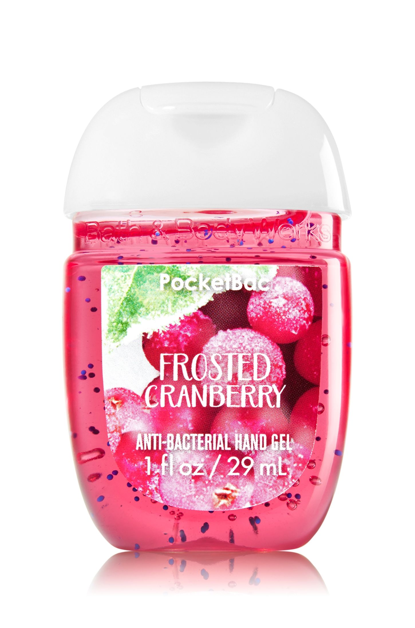 Frosted Cranberry Pocketbac Sanitizing Hand Gel Soap Sanitizer