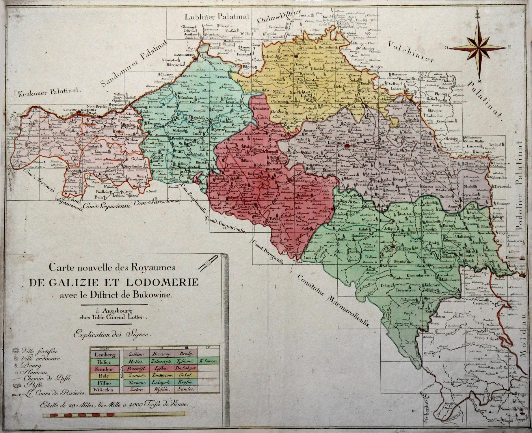 Mapa Korolivstva Halycyny Ta Volodymyriji Karte Von Konigreich