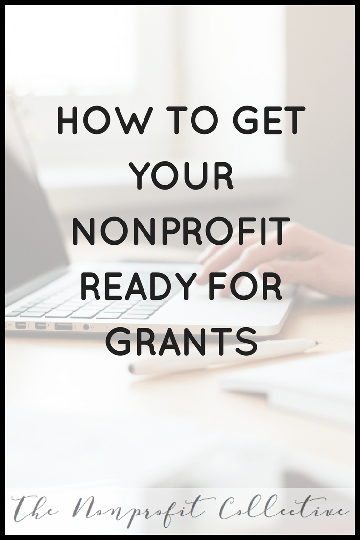 Sometimes nonprofits jump into the grant writing process