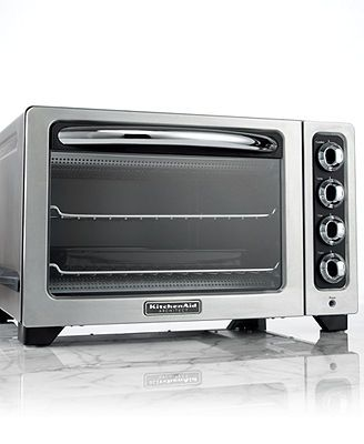 Kitchenaid Kco222cs Toaster Oven Architect Countertop 12 Macys Kitchen Aid Appliances Kitchen Aid Toaster