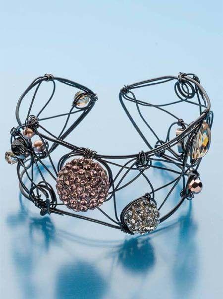 Lifepath Bracelet by Brenda Schweder | InterweaveStore.com